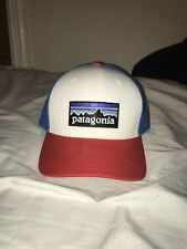 Patagonia Hat   Red Blue White   Trucker Hat   Stranger Things   Adjustable 34e8faa36833