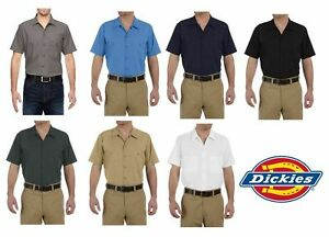 Brand New DICKIES MENS SHORT SLEEVE INDUSTRIAL SHIRT LS535 - PICK YOUR COLOR !