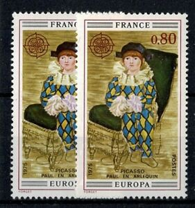 """FRANCE YVERT 1840 """" ARLEQUIN PICASSO 0,80F VARIETE COULEUR """" NEUF xx LUXE W137"""