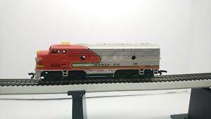Tyco HO Train Santa Fe EMD F9A Powered Diesel Locomotive