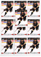2011-12 DUNCAN KEITH UPPER DECK SERIES 1 #166 CHICAGO BLACKHAWKS 10 CARD LOT