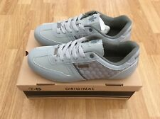 MENS / YOUTHS TWISTED FAITH LACE UP TRAINER SHOES ENZO GREY USA 8 =  UK SIZE 7