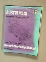 AUSTIN MAXI 1500 & 1750cc 1969-75' Haynes Workshop Manual