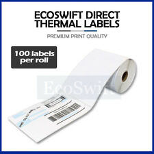 1 Roll 100 4 X 6 For Zebra 2844 Eltron Direct Thermal Printer 100 Labels 4x6