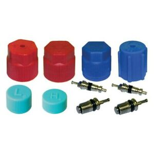 A/C Cap & Valve AC System Accessories Air Conditioning Service Seal Kit