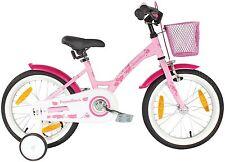 PROMETHEUS 16 inch girls bike in colour pink purple kids bike with stabilisers |