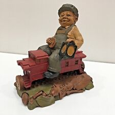 "Tom Clark Cab Gnome Train Driver #28 Signed 5.75"" Tall 1986"