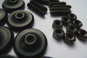CREAKTIV Bodenspike M6 8er-Set inkl. Bodenplatten (Pads) (NOS)
