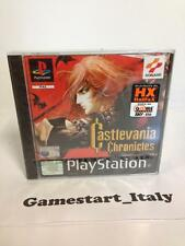 CASTLEVANIA CHRONICLES (SONY PS1) NUOVO SIGILLATO NEW SEALED PAL VERSION ITA