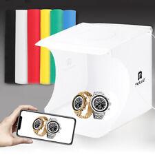 Mini Folding Photo Studio Photography LED Light Box Lighting Tent +6pcs Backdrop