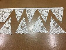 5 metres Rose Lace Trim -16 cm Wide - Frill-Lace Edging -Donna Lace
