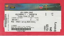 Orig.Ticket  Europa League  2012/13  HELSINGBORGS IF - HANNOVER 96  !!  SELTEN