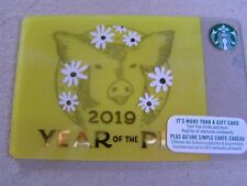 CANADA new Starbucks card 6162 year of the pig