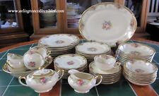 60 Piece Set ☆ Rosalind by R S Tillowitz Diana China Germany ☆ 8 Place Settings