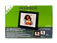 Insignia 10.4 Inches Digital Picture Frame LCD with 2 Wood Frames