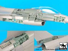 Black Dog 1/48 F-16C Fighting Falcon Aircraft Detail Big Set (for Tamiya) A48081