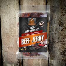BEEF JERKY 50G CHILLI AUSTRALIAN OUTBACK PREMIUM BEEF JERKY FACTORY FRESH
