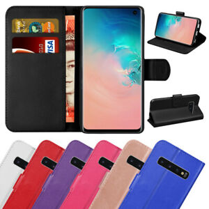 Case For Samsung Galaxy S20 S10 S9 J3 Magnetic Flip Wallet Leather Stand Cover
