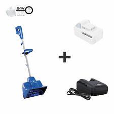 Snow Joe 24-Volt Cordless Snow Shovel | 11-Inch | 5.0-Ah Battery and Charger