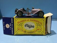 MATCHBOX MODELS OF YESTERYEAR FIRST SERIES MERCER RACEABOUT BOXED CHEAP LOT