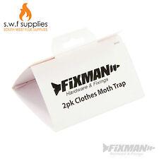 2pk Clothes Moth Trap Sticky Wardrobe Insect Pest Sticky Glue Trap 426900