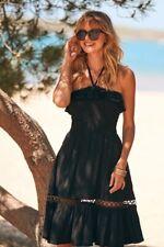 Sosandar Black Embroidered Hem Multiway Sun Dress Size 20