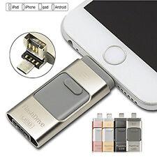 i Flash Drive OTG Dual USB Memory U Disk For IOS iPhone iPad/PC 64GB 128GB