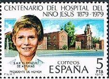 ESPAÑA 1979. Centenario del Hospital del Niño Jesús. Edifil 2548