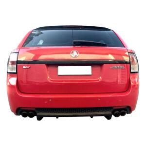 Genuine Holden Moulding Tailgate Phantom Black Trim for VE VF HSV Tourer Wagon