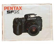 Pentax SF X   - Bedienanleitung