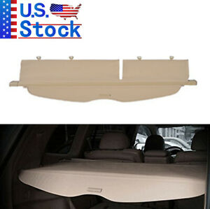 For 2008-2013 Toyota Highlander Cargo Cover Trunk Shade Security Tonneau Shield