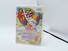 WARIO LAND SHAKE IT! - Nintendo Wii - NEW Factory Sealed - FREE SHIPPING