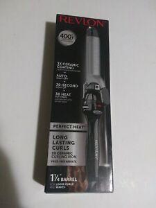 Revlon Perfect Heat Long Lasting Curls 3x Ceramic Curling Iron