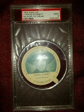 RARE NELSONS ICE CREAM CHARLES STARRETT 1952 DIXIE CUP LID PSA GRADED 9 MINT ABC