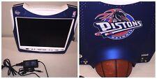 "Hannspree NBA Detroit Pistons Basketball LCD 15"" Monitor T153 TV NO Remote"