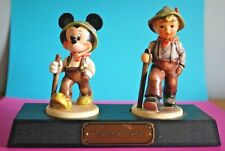 LE Goebel Porcelain Figurines - GRANDPA'S BOYS from the 1995 Disney Convention