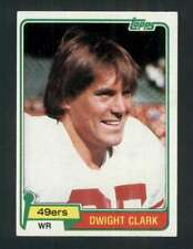 1981 Topps #422 Dwight Clark NM/NM+ RC Rookie 49ers 118136