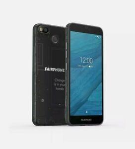 Fairphone 3 Black 4GB+64GB Dual SIM (Unlocked) Smartphone