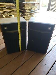 Vintage Magnavox  balancer series speakers BB1738 , 591237-20