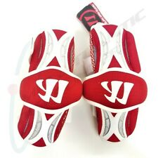Warrior Burn Lacrosse Arm Guard Large Red and White Bag13-L