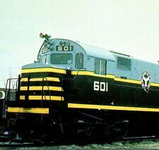 No 601 ALCO C-424 train Belt Railway of Chicago locomotive IL Vintage Postcard