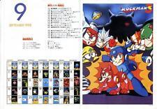 Twin Bee Da! Rockman Mega Man 3 DECO Famicom FC GB GAME MAGAZINE PROMO CLIPPING