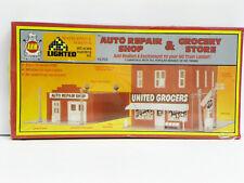 "A.H.M. Ho U/A ""Auto Repair Shop & Grocery Store"" Plastic Model Kit #15702"
