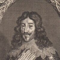 Portrait XVIIIe Louis XIII Roi De France Marie De Médicis Cardinal De Richelieu