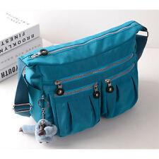 Women's Polyester Organizer Purse Multi Pocket Handbag Shoulder Bag Satchel Tote