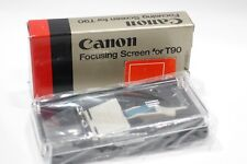 Canon T90 Focusing screen C All Matte Boxed fits T90 Camera for Macro/Telephoto