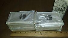 ( Box Of 25 ) Leviton 86003 Wall Plates Ivory Plastic 1-Gang 1-Duplex Receptacle