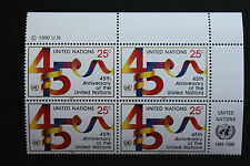 NATIONS-UNIS (new-york) timbre / stamp Yvert et Tellier n°574 x4 n** (Cyn13)