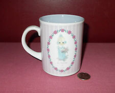 1990 Enesco Mothers Day Samuel Butcher Precious Moments Mug A Mother Is Love ^