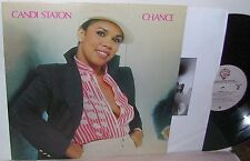 "Candi Station Chance LP NM ""Lyric Sleeve"""